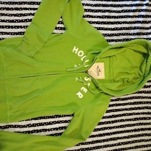 Hollister zip up hoodie